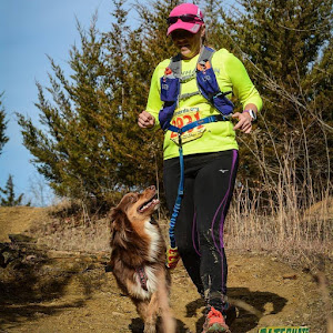 Trail running with Stella Ella