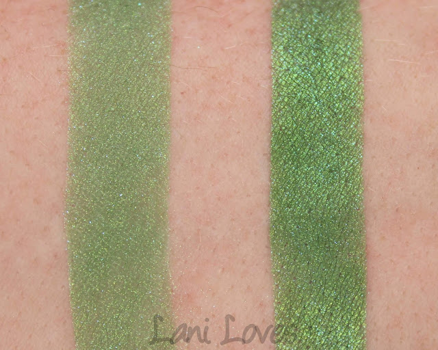 Darling Girl Eyeshadow - Go, Go Godzilla Swatches & Review