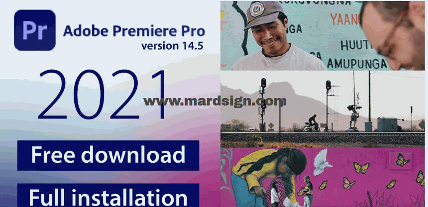 تحميل برنامج Adobe Premiere Pro CC 2021 مجانا