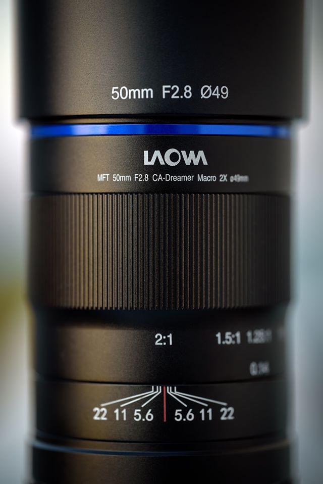 Макрообъектив Laowa 50mm f/2.8 CA-Dreamer Macro 2X MFT