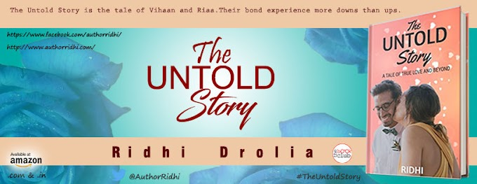 New Sign up: Book Blitz: The Untold Story by Ridhi Drolia