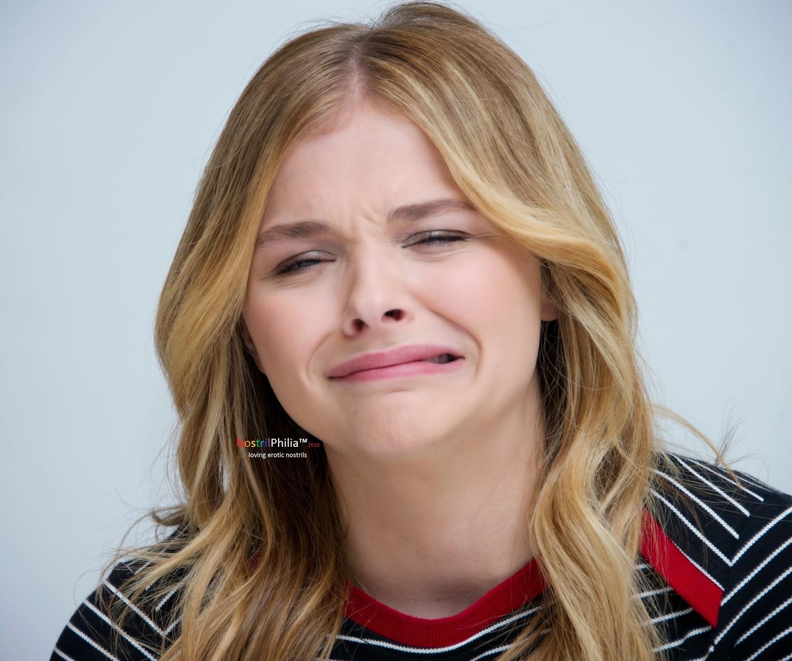 NostrilPhilia™: Chloe Moretz's Nostrils (30