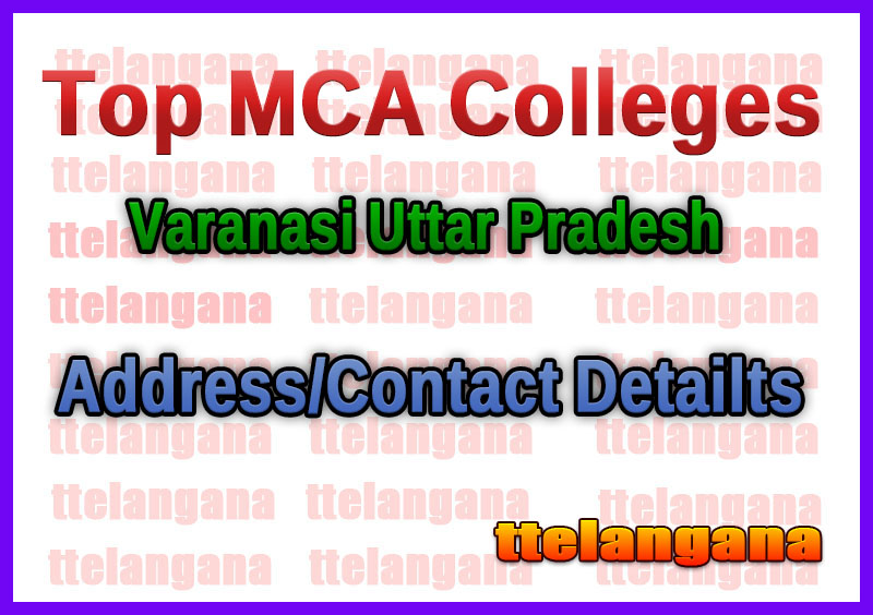 Top MCA Colleges in Varanasi Uttar Pradesh