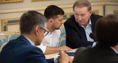 Зеленский назначил Кучму руководителем делегации на минских переговорах