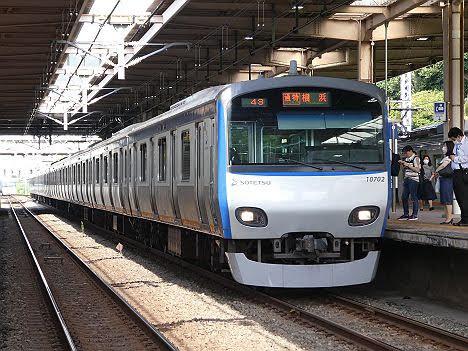 【ネイビーブルー塗装化で消滅へ!】相鉄10000系 通勤特急 横浜行き