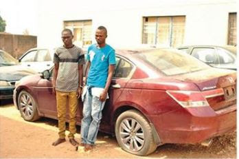 Faces of 2 Fake Soldiers Arrested for Robbing A Real Soldier in Abuja