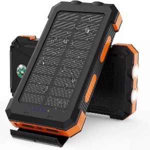 Solar powerbank (outdoor powerbank op zonne energie) Lucky One