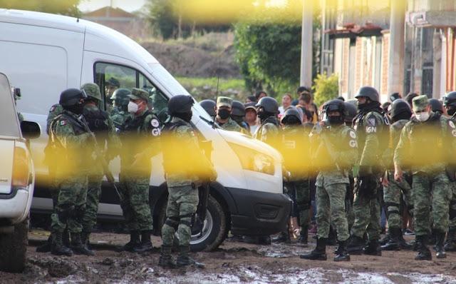 El Marro iba por la gente del CJNG Sicarios arribaron al lugar solicitando a los miembros del Cártel Jalisco Nueva Generación en el lugar dicen había gente de El Mencho