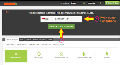 verifikasi hp 3