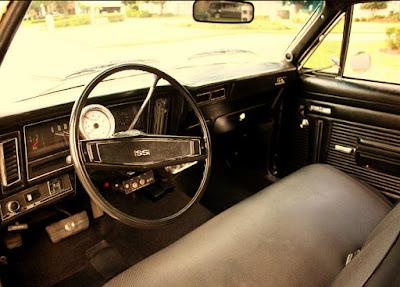 1972 Chevrolet Nova SS Sports Coupe Interior Cabin