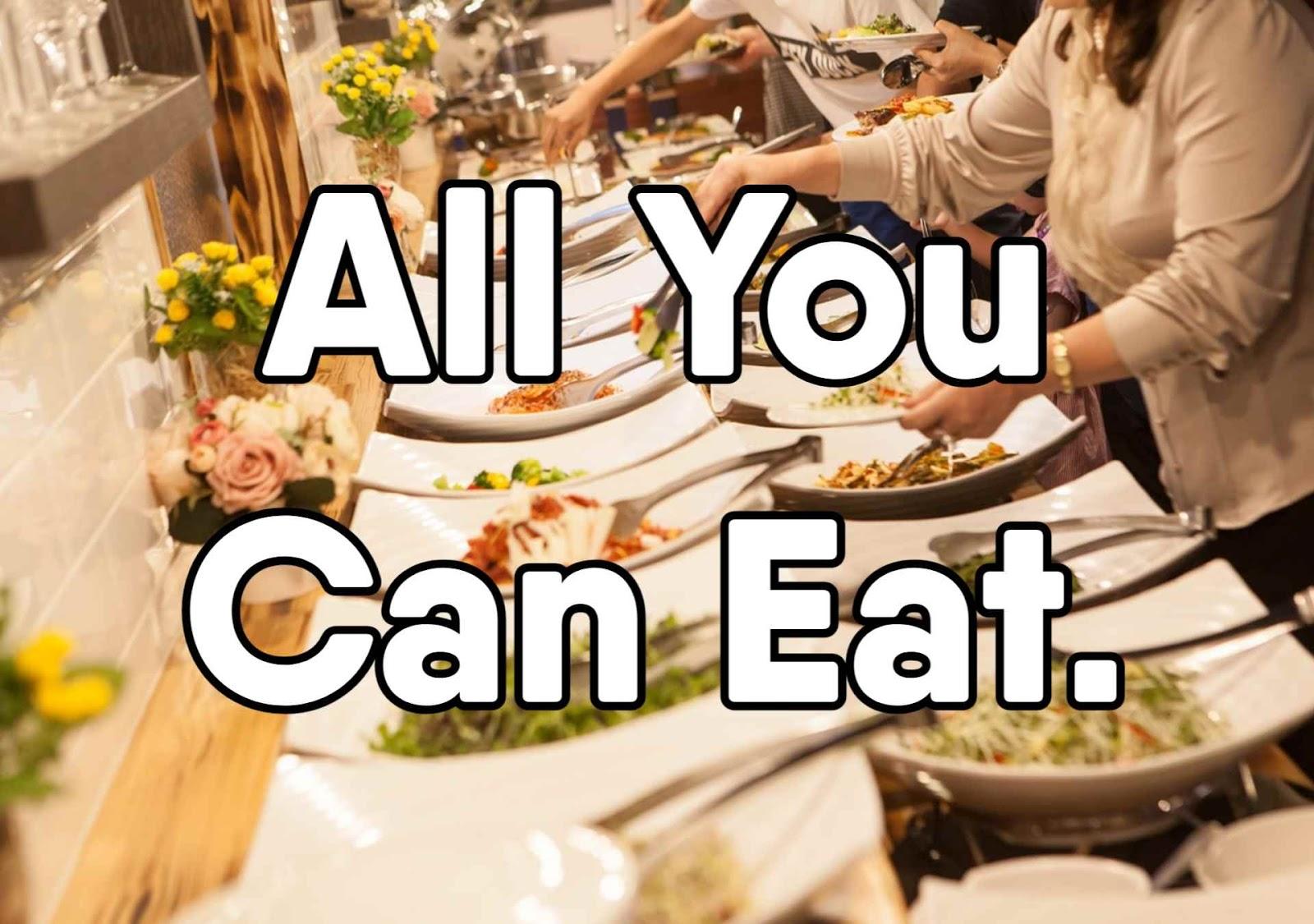 Cara Pesan Makan di Restoran All You Can Eat