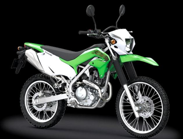 Kawasaki KLX 230 warna hijau