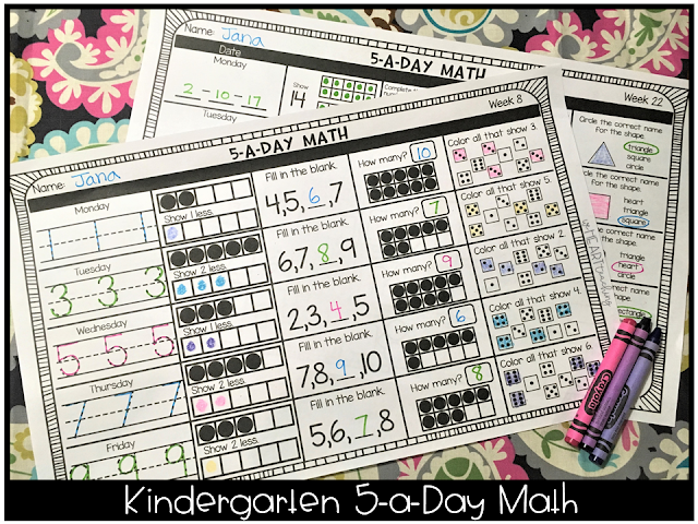 https://www.teacherspayteachers.com/Product/5-a-Day-Math-KINDER-Weekly-Spiral-Math-Review-2605363?aref=dcwm85b8