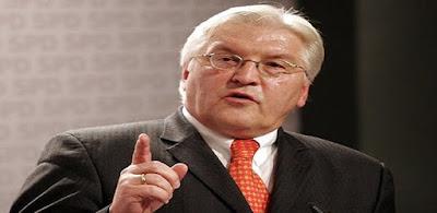 وزير الخارجية الألمانية فرانك فالتر شتاينماير