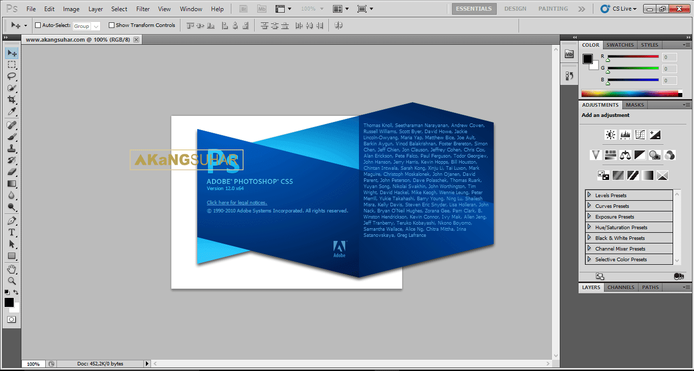 Download Adobe Photoshop CS5 Extended Full Version