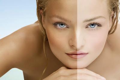 tips cara memutihkan kulit wajah