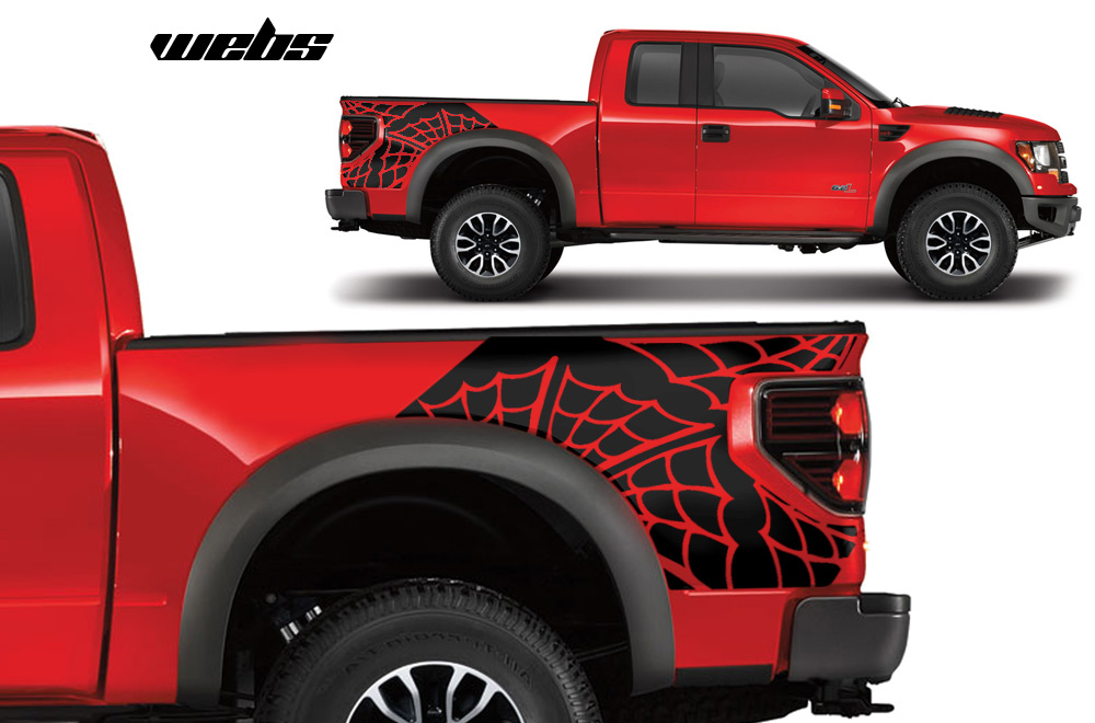 Mi Ford Raptor F 150 Stikers