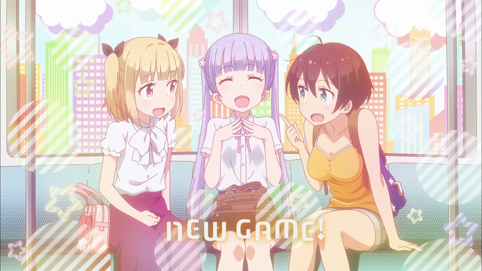 New Game! Eyecatch