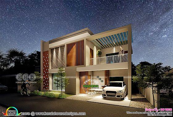 4 bedroom villa architecture design