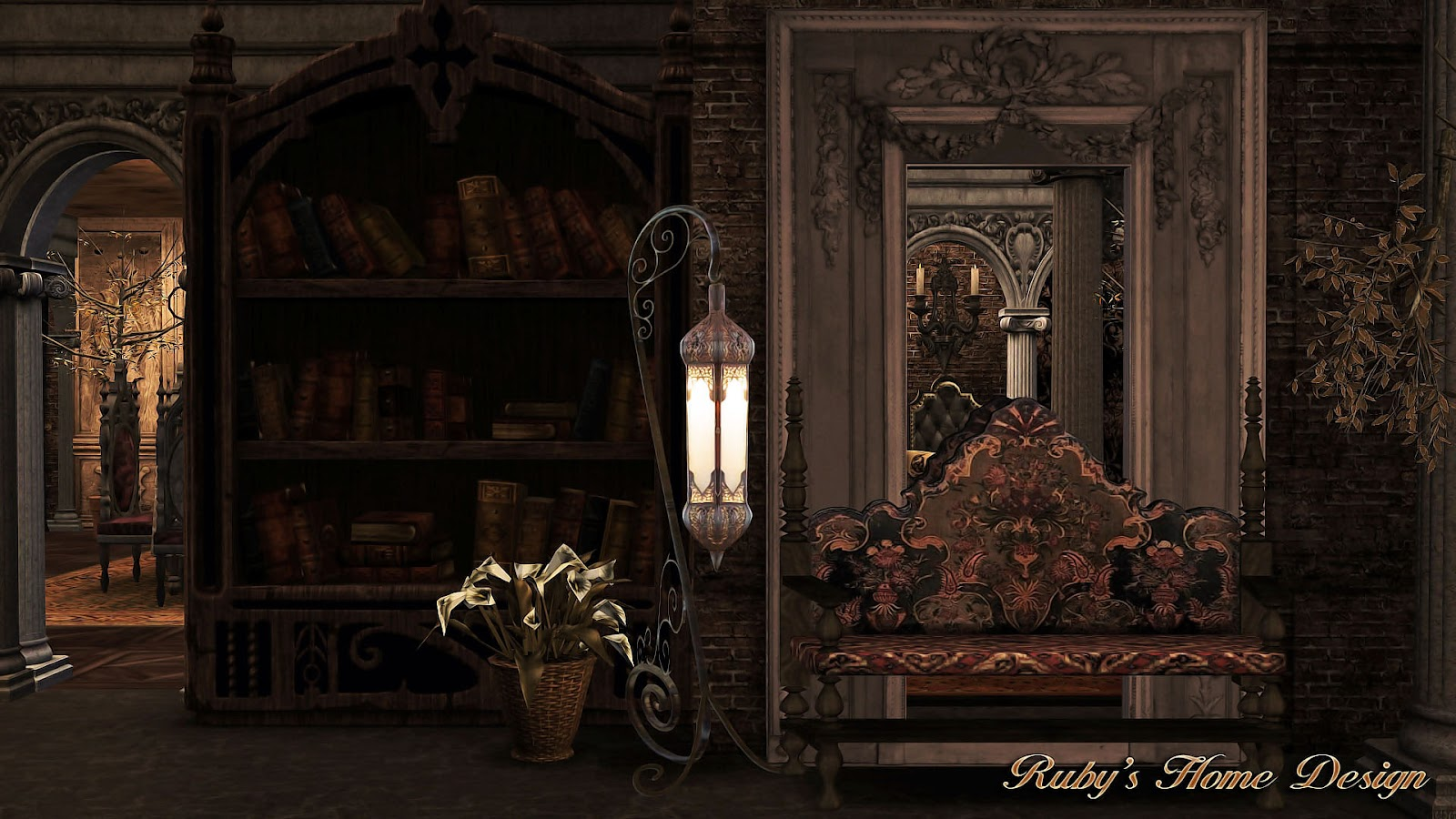 sims3 the gothic mansion ruby 39 s home design. Black Bedroom Furniture Sets. Home Design Ideas