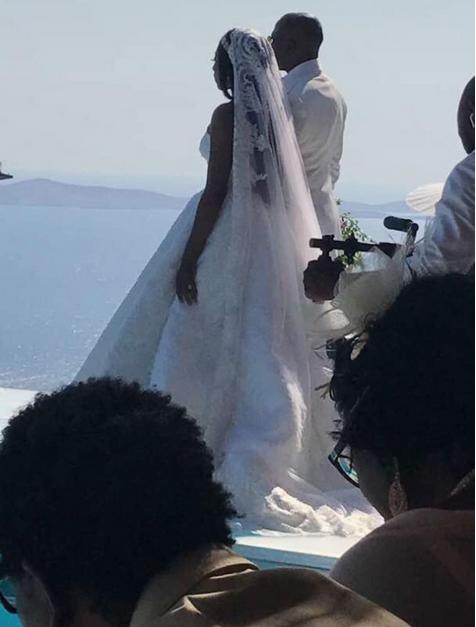 Stephanie-Coker-Olumide-Aderinokun-white-wedding-Mykonos-Greece-3
