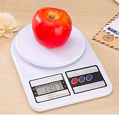 Electronic Digital Weighing Scale Weight Machine (10 Kg - with Back Light)