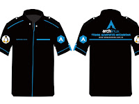 Desain Baju Komputer Arch Linux | SMK Yasmida Ambarawa