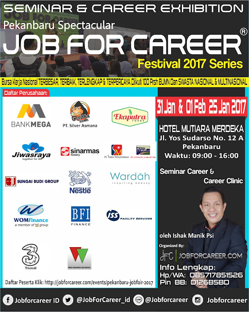 Indonesia JOB FOR CAREER Festival 2017