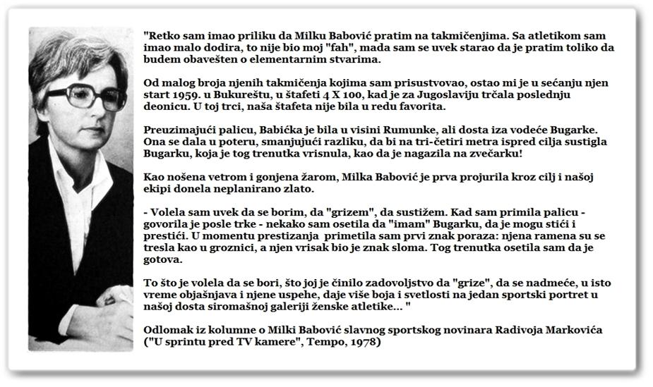 Milka Babović