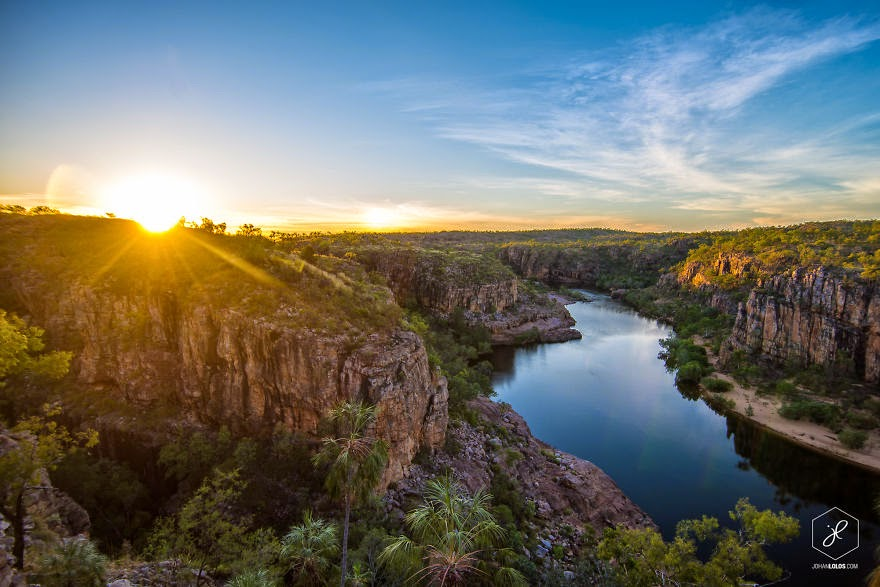 Katherine Gorge, NT - Man Travels 40,000km Around Australia and Brings Back These Stunning Photos
