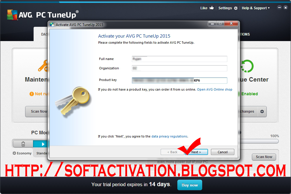 How to Install AVG PC TuneUp 6