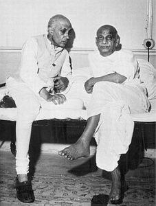 Renunciation of Sardar Patel