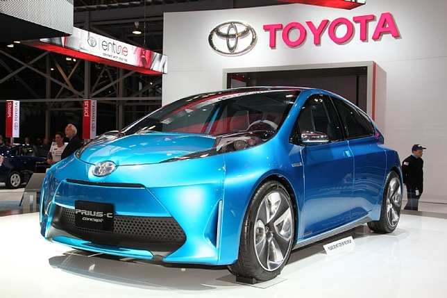 Auto Link Holdings News: TOYOTA PRIUS - C LAUNCHED
