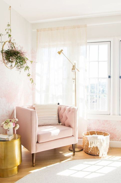 pink home decor inspiration
