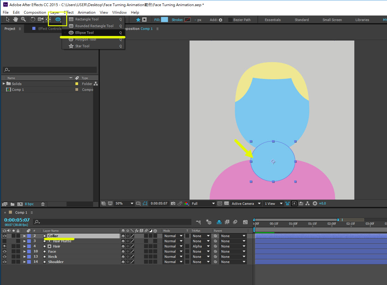 Face Turning Ani 09