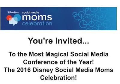 Disney Social Media Moms Conference Invitation #DisneySMMC