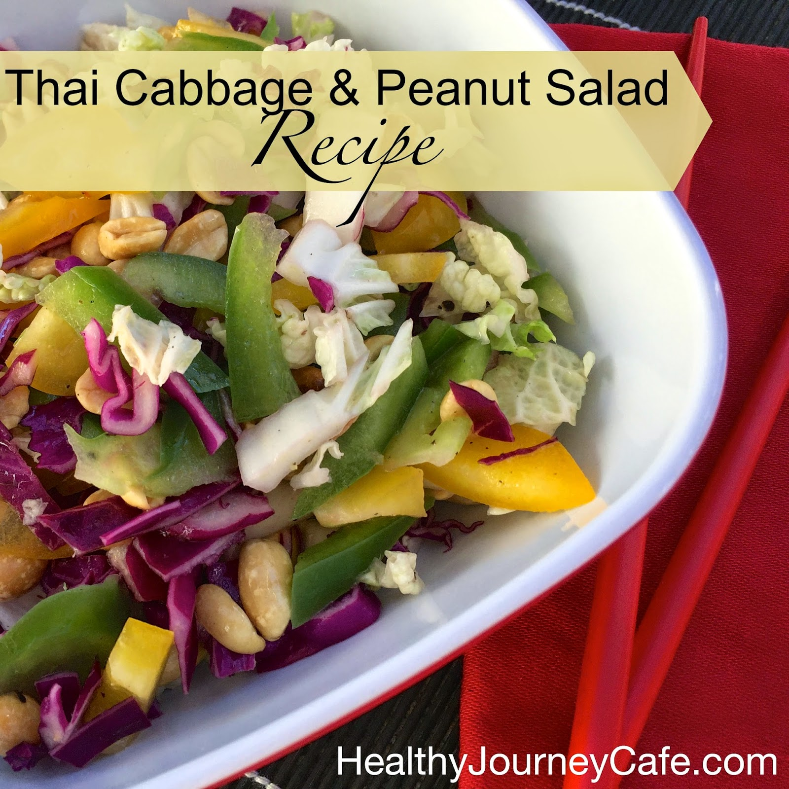 Thai Cabbage & Peanut Salad