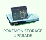 Pokemon Storage Upgrade