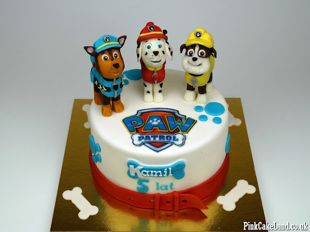 Paw Patrol Bday Cakes London