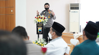 Divhumas Polri Bersama Polda Jateng Gelar Kegiatan FGD Di Mapolrestabes Semarang