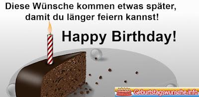 Nachträgliche Geburtstagswünsche