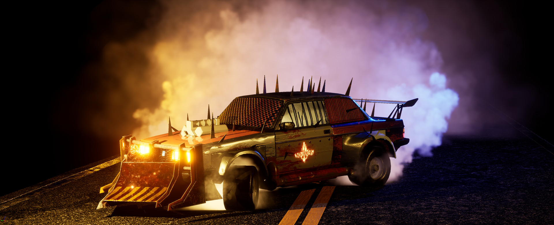 Drive Hard Or Die Trying In 'Rust Racers' Coming To STEAM Offering Massive Online Vehicle Destruction And Mayhem
