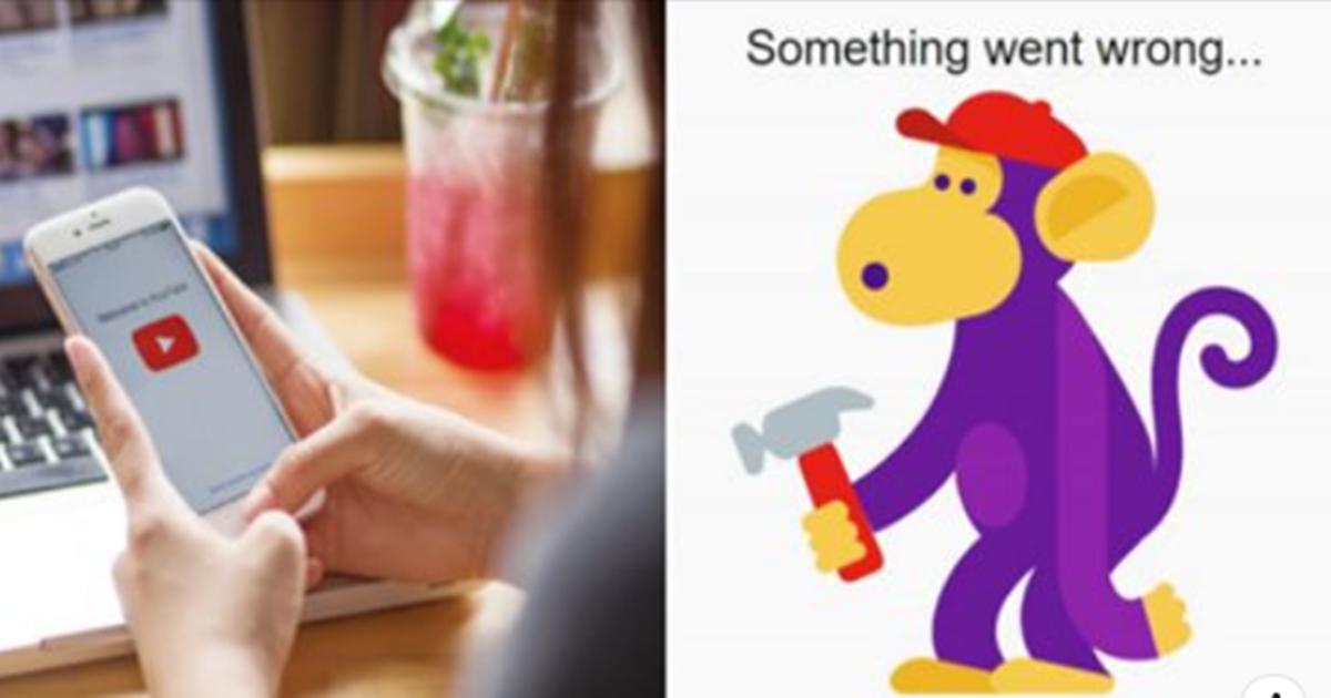 어제 유튜브 서버 터져 원숭이 이모티콘 뜨면서 유튜브 안들어가진 충격적인 이유