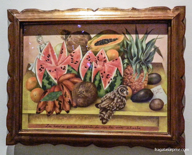 """A Noiva que se Espanta ao Ver a Vida Aberta"", de Frida Kahlo"