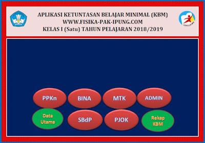 Aplikasi KKM K13 SD/MI Revisi 2018