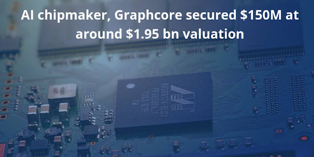 AI chipmaker, Graphcore secured $150M at around $1.95 bn valuation