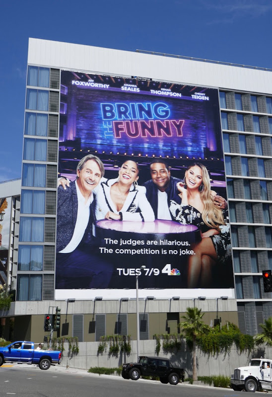Bring the Funny NBC series billboard