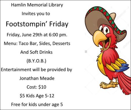 6-29 Hamlin Library Footstompin' Friday