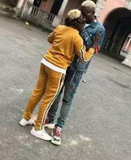 Zlatan Ibile's Girlfriend, Seyi Awonuga Shares First Photo Of Their Child [Photo]