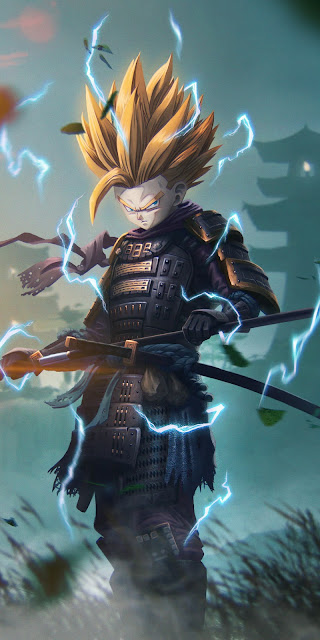 Free Warrior Samurai Son Gohan wallpaper